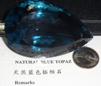 TOPAZ 天然藍色拓帕石 托帕石-5...
