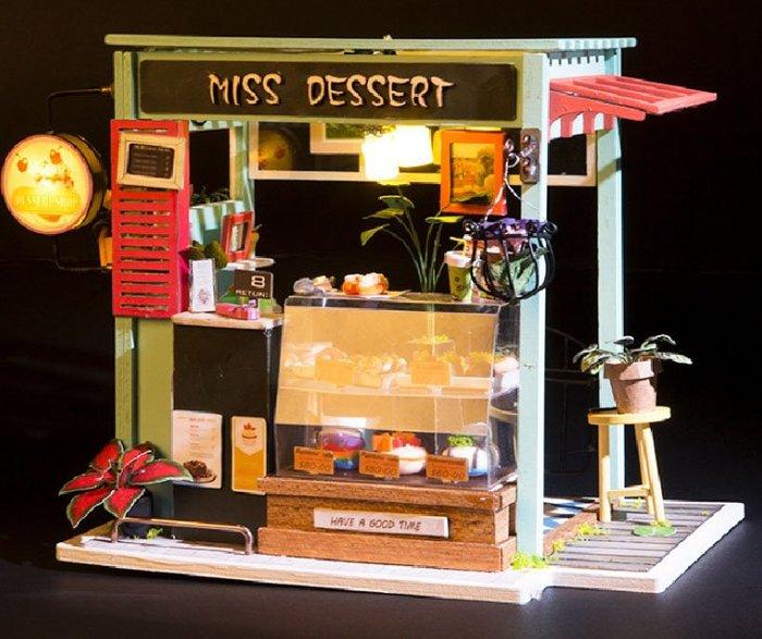 【批貨達人】甜蜜量販 手工拼裝 手作DIY小屋袖珍屋 迷你屋 創意小物生日禮物