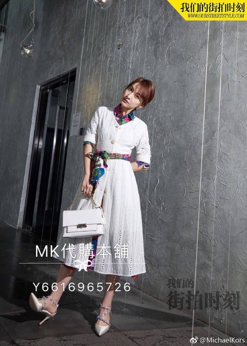 Michael kors MK 春夏  新款  cece鏈條  單肩包
