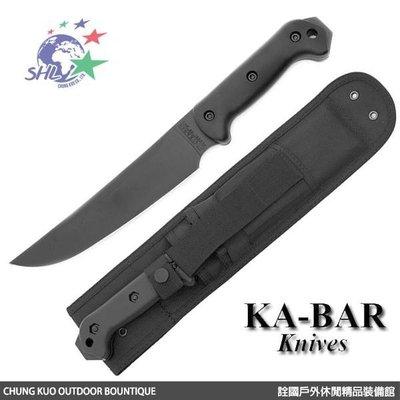 馬克斯 KA-BAR - Becker Magnum Camp 求生戰術直刀 / 1095高碳鋼 - BK5