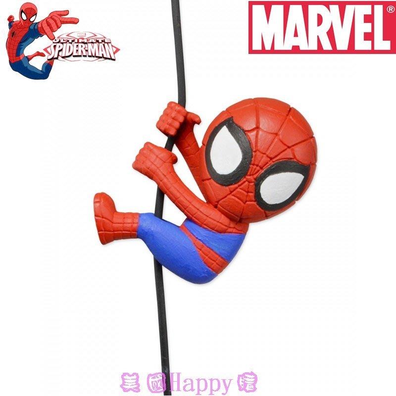 現貨 ☆ ╮美國Happy購╭☆ Marvel 英雄 Spider Man Neca  Q版蜘蛛人 爬繩公仔
