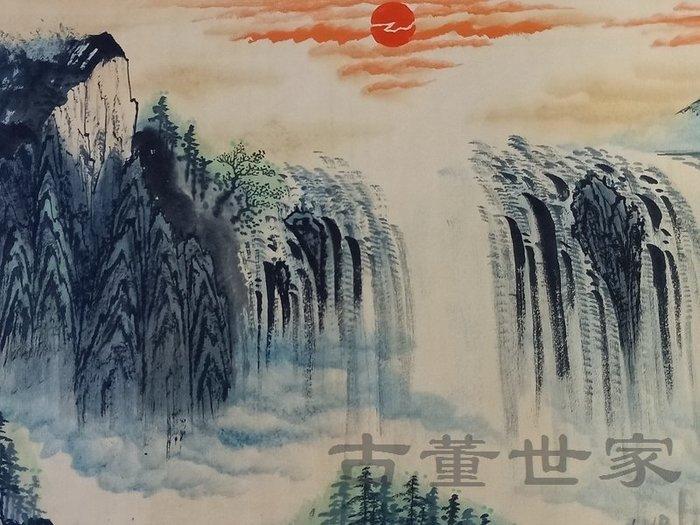 【聚寶閣】古董古玩字畫近代名人黃賓虹山水畫一副 sbh4918