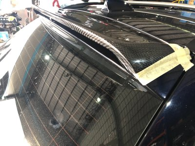 DJD19091903 BMW E61 TOURING 大五旅行車專用H款式CARBON後上尾翼