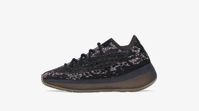 YEEZY BOOST 380 ONYX Reflective H02536 男女鞋 全反光