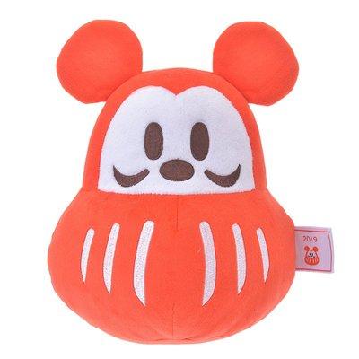 【日貨代購CITY】Disney Stowa 迪士尼 米老鼠 達摩 米奇 絨毛 玩偶 娃娃 現貨