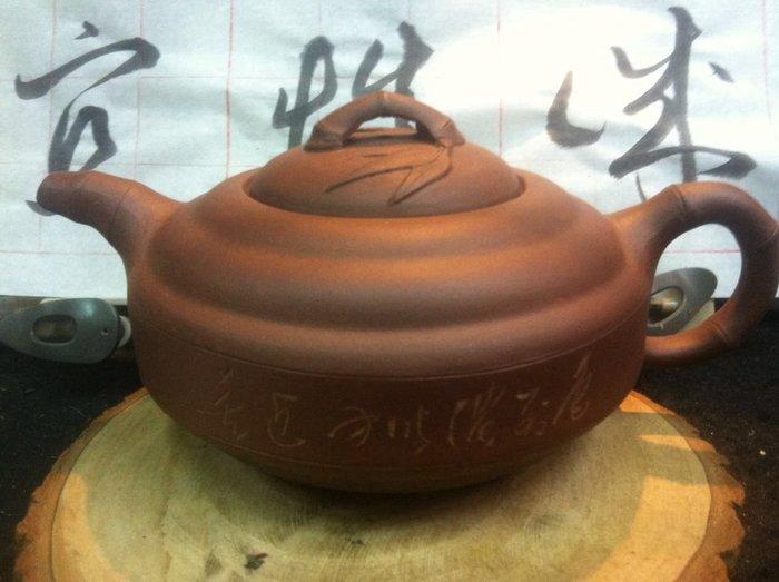 【茶墨相濡】特賣 ☆紫砂壺☆ 早期宜興紫砂壺8003