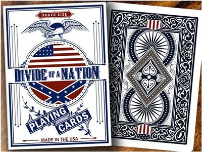 【USPCC 撲克】S103049111 Bicycle Divide of A Nation Playing Cards