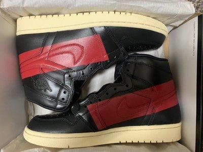 Air Jordan 1 High OG Defiant  Black Gym Red 全新 US8.5誠可議