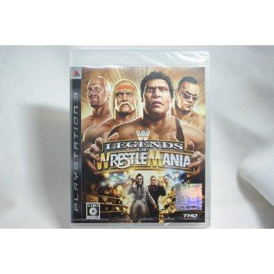 [耀西]全新 純日版 SONY PS3 WWE 激爆職業摔角 傳奇再現 含稅附發票
