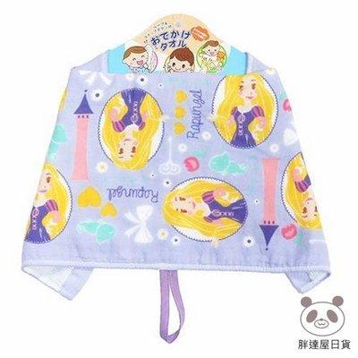 ✪胖達屋日貨✪日本正版 千趣會 Disney迪士尼 魔髮奇緣  寶寶外出 多用途 口水巾 紗布巾 掛式擦手巾 寶寶圍兜兜