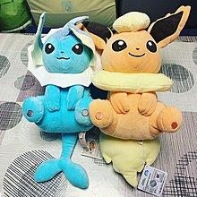 Pokemon 水伊貝、火伊貝公仔
