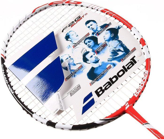 百狗體育 BABOLAT F2G BLAST STRUNG 高鋼性碳纖維羽球拍 含線/含運 立即出貨 可面交 5折
