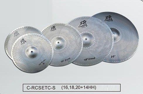 【華邑樂器40111】Craftsman 匠 研系列靜音銅鈸  (C-RCSETC-S 台製)