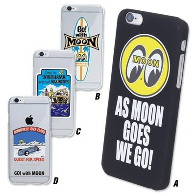 (I LOVE樂多) MOON iPhone6/s 4.7可通用硬質手機殼既不會難拿取與破裂問題共有4種款式挑選
