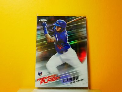Alex Verdugo 2018 Topps Chrome Freshman Flash RC 特卡