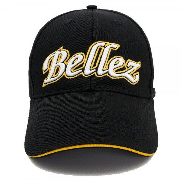 藍鯨高爾夫 BELLEZ LOGO 紳士休閒 運動帽#14300302-00/黑色