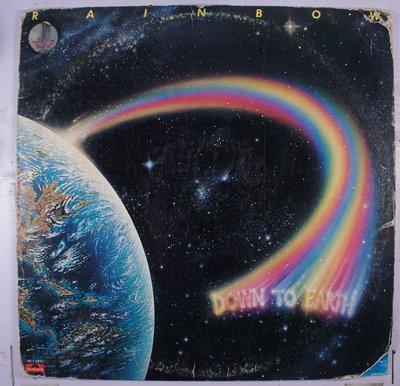 《二手美版黑膠》Rainbow – Down To Earth