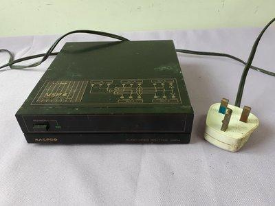 萬視寶 MASPRO Audio-Video Splitter VSP4 Made In Japan 聲頻視頻選擇分配器
