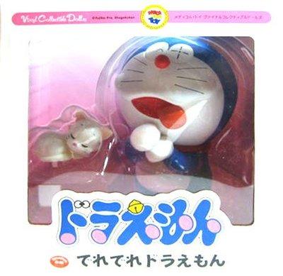 日本正版 Medicom Toy VCD でれでれ 哆啦A夢 模型 公仔 日本代購