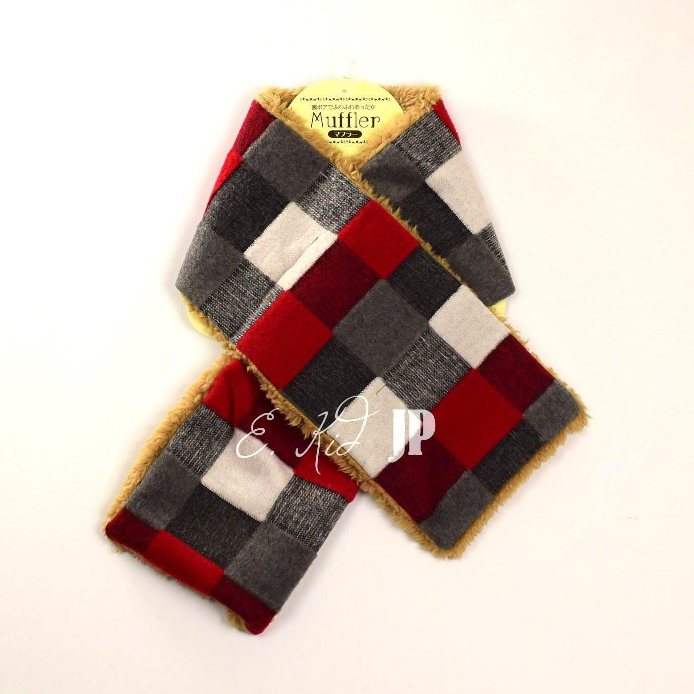 日本童裝 圍巾 脖圍 日本冬天必備  大人小孩都可圍 保暖舒適內刷厚毛款 羊羔絨 保暖  日本空運~小太陽日本精品