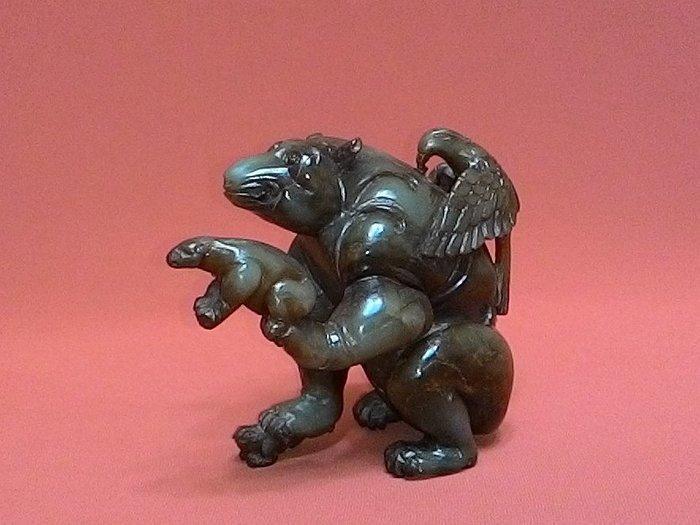 漢-鷹熊 -【英雄】特徵:凍裂.沁紅 【出清特價】