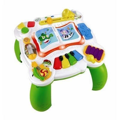 ♪♫瑋瑋城堡✲玩具出租♪♫ (二手出售)LeapFrog跳跳蛙 歡樂音樂桌(8成新)