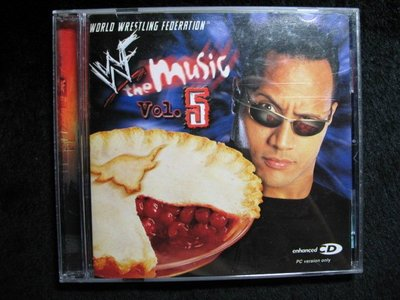 WORLD WRESTLING FEOERATION - WWF the Music Vol,5 - 2001年版  - 301元起標