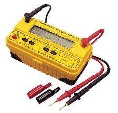 TECPEL 泰菱》DIM572 數位絕緣阻抗計 +電壓量測 高阻計  交流直流電壓量測