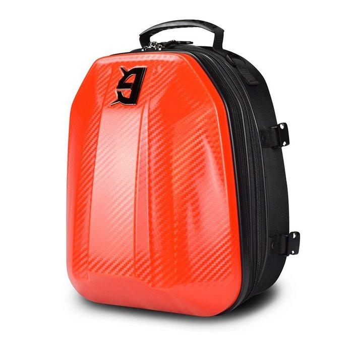 【購物百分百】硬殼雙肩頭盔包 機車尾包 休閒包 多功能零件置物包