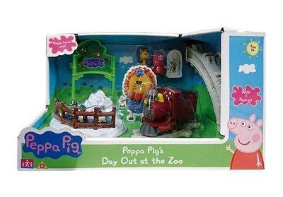 伯寶行代理Peppa Pig 粉紅豬小妹-動物園旅行組 Day Out at the Zoo
