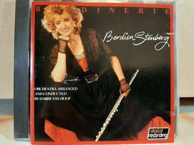 Berdien Stenberg,長笛仙子~蓓婷·史坦貝爾格,演繹莫大,海頓,布拉姆斯,比才等膾炙人口歌曲,CD多有細紋(非刮傷),讀取正常.完美主義者請勿下標