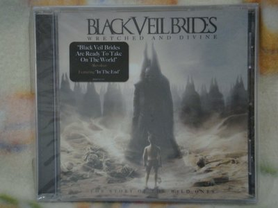 Black Veil Brids cd=Wretched And Divine (2012年發行,全新未拆封)
