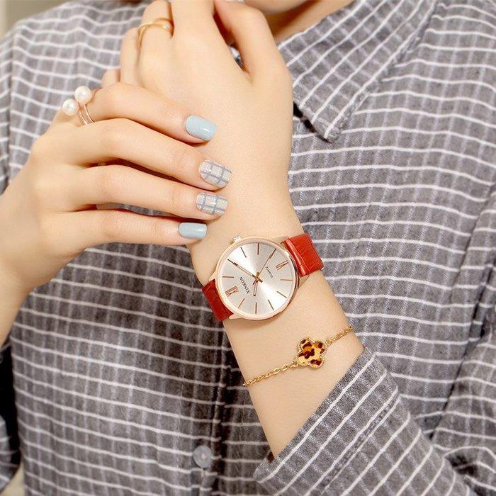 奇奇店#女生手表新品韓版時尚潮流女士腕表簡約防水女學生超薄石英表女表#手錶#男生手錶#兒童手錶#女生手錶