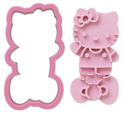 *快樂寶寶 *日本製 Hello kitty 吐司 餅乾 壓模