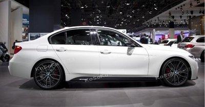 高速空力 BMW F30 F31 M-TECH M  PERFORMANCE M TECH PP材質 側裙定風翼