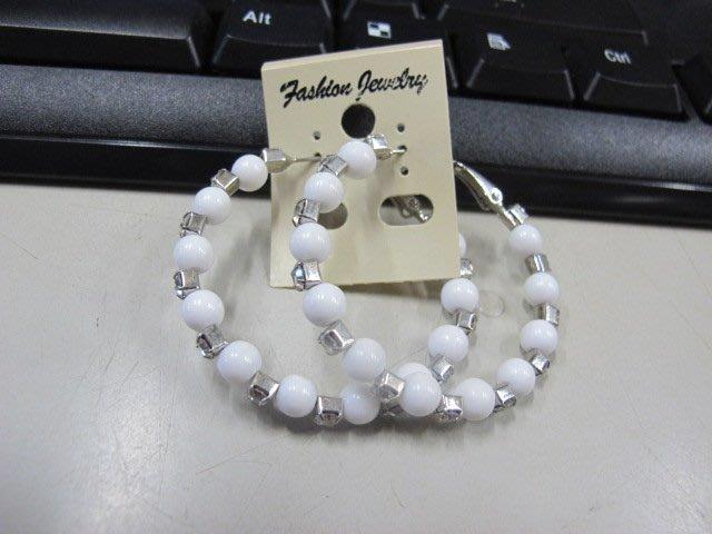 二手舖 NO.4548 時尚造型耳環 耳針 耳鉤 便宜賣 首飾飾品