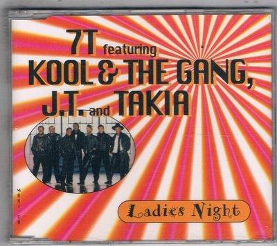 [鑫隆音樂]西洋單曲-7T featuring  KOOL& THE GANG J.T.and TAKIA {LC8076}全新