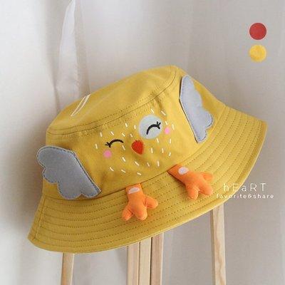 【媽媽倉庫】立體小雞造型遮陽漁夫帽 帽子 童帽