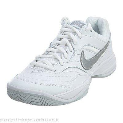 【PH運動廣場】845048-100 NIKE 運動 女款 網球鞋 COURT CITE 白 #1214