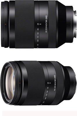 【柯達行】SONY FE 24-240mm F3.5-6.3 OSS 望遠變焦鏡 平輸/店保~免運...A