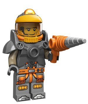 現貨【LEGO 樂高】積木/ Minifigures人偶系列:12代人偶包抽抽樂 71007   太空人多德