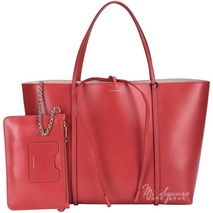 米蘭廣場 DOLCE & GABBANA ESCAPE 全皮綁結購物包(大/紅色) 1510037-54