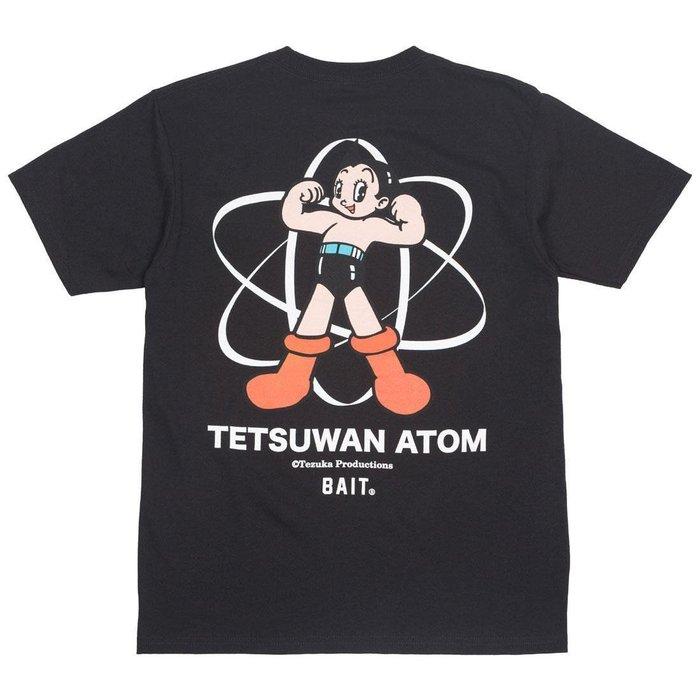 預購 BEETLE BAIT X ASTRO BOY TETSUWAN ATOM 原子小金剛 黑色 短TEE S M L
