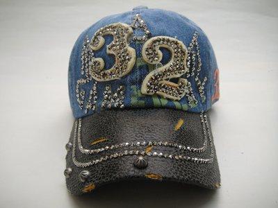 現貨供應*JIFU 鉅釜皮件*帽子*棒球帽(藍色/咖啡色)
