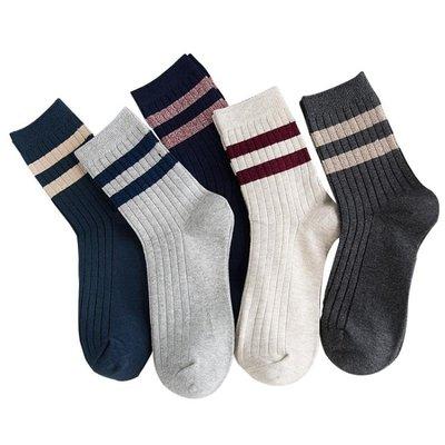 襪子男潮短襪棉質襪四季中筒運動防臭長筒吸汗潮流正韓夏季短筒襪AMXP