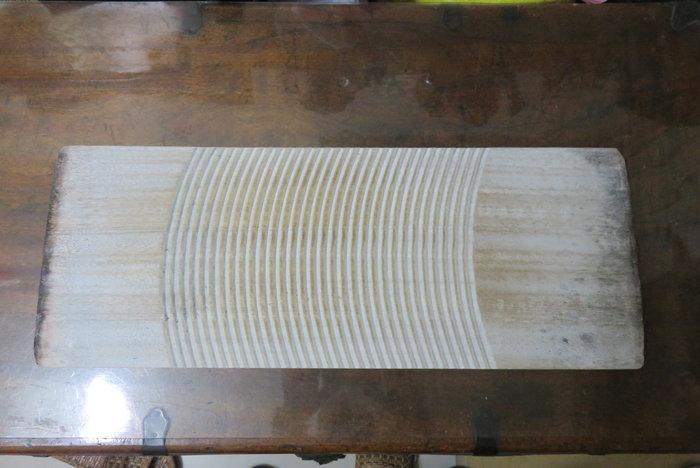 【讓藏】早期收藏有點年代的實木老洗衣板,可當盆栽架,,,,下標就賣
