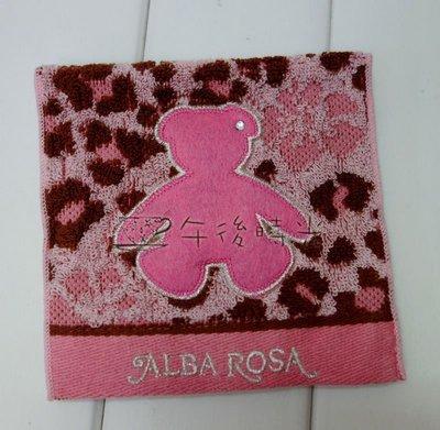 【午後時光】日本zakka雜貨ALBA ROSA豹紋小熊 泰迪熊 扶桑花棉袋衛生棉生理用品護墊收納包小物包-5624