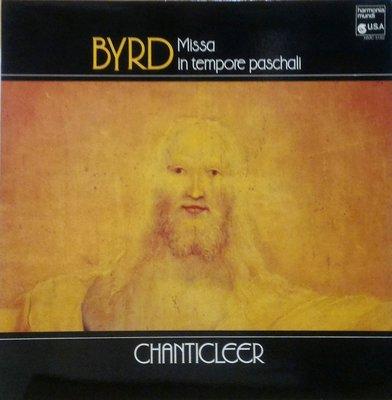 §小宋唱片§ 法版harmonia mundi/Byrd 拜爾德:彌撒曲/Chanticleer 香提克利合唱團