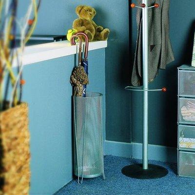 雨傘架 鐵藝絲網居家用簡約雨傘桶收納架掛傘架創意客房放傘桶日式   全館免運