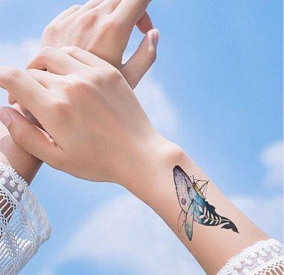 【萌古屋】帆船鯨魚 - 男女防水紋身貼紙刺青貼紙 RC-515